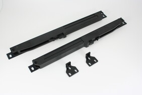 Softclose System for Flat Track Set (black and Grey)