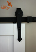 Arrow Hanger Barn Door Hardware Set