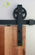 Industrial Hanger Barn Door Hardware Set
