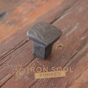 Iron Soul Forged Rail Way Nail Cabinet Pull