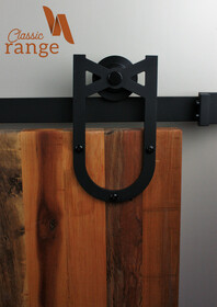 Mini Horse Shoe Barn Door Hardware Sets