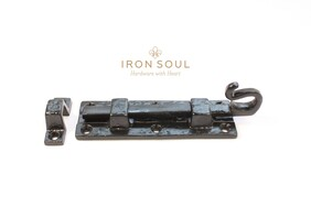 Iron Soul Gothic Door Bolt (Straight) 120mm