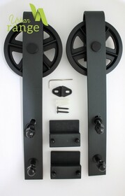 Industrial Hanger Parts for Double Door Set