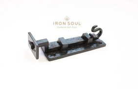 ​Iron Soul Gothic Door Bolt (Necked) 120mm