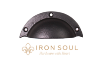 Iron Soul Cup Cabinet Pull (Two Sizes)