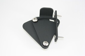 Tear Drop Barn Door Lock (Black and Stainless options)