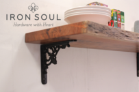 Iron Soul Edwardian Shelf Bracket (Three Sizes)