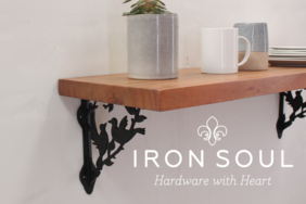 Iron Soul Farm House Shelf Bracket