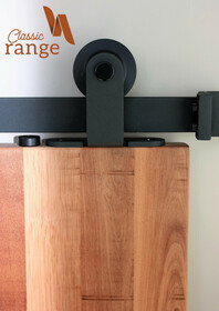 Aero Top Mounted Barn Door Hardware Set