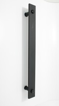 Bar Handle - Antique Black - 300mm (Single or Double Sided)