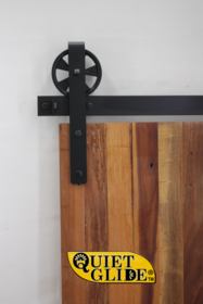 """Quiet Glide"" Bespoke Strap Barn Door Hardware kit"