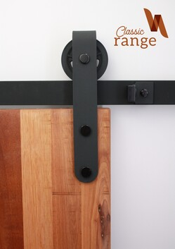 Heavy Hanger Barn Door Hardware Set